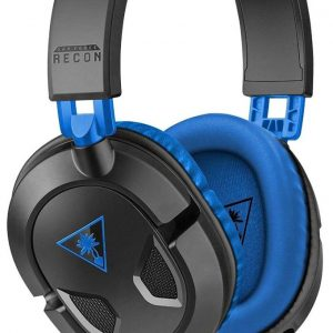 Turtle Beach Ear Force Recon 60P Amplified Stereo Gaming Headset, Black and Blue