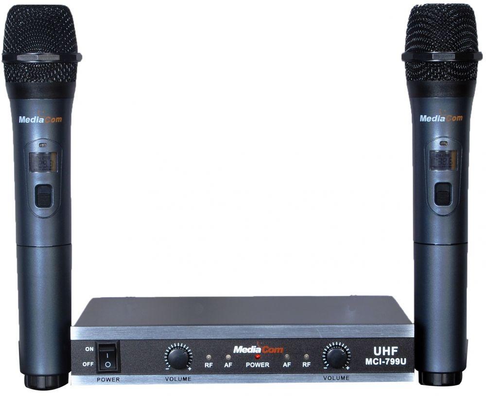MediaCom MCI 799U Wireless Microphones