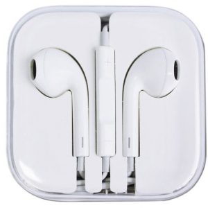 Earphone for iPhone by Icon, White, 32W3A001