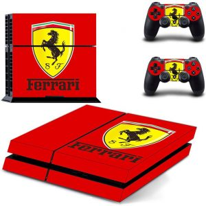 Ferrari Playstation 4 Vinyl Skin Sticker Decal for PS4