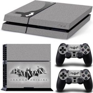Batman Decal Skin Cover Sticker Fr Sony PS4 Console with 2 Pc Sticker Controller TN-PS4-1711