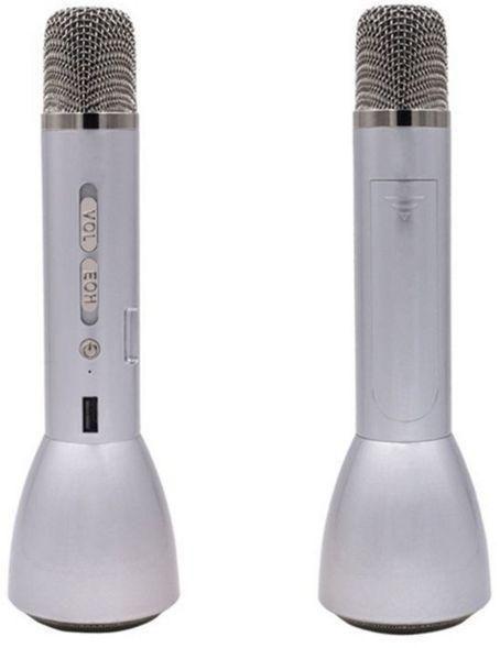 Magic Karaoke Player with Bluetooth Speaker Silver KTV-K088