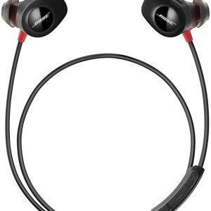 Bose SoundSport Pulse Wireless Headphones - Power Red