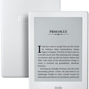 All-New Kindle E-reader - White, 6 inch Touchscreen Display, Wi-Fi - Includes Special Offers
