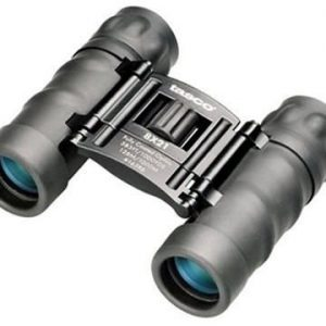 TASCO 8X21 ESSENTIALS, FRP COMPACT(MULTI LINGUAL CLAM) BINOCULARS