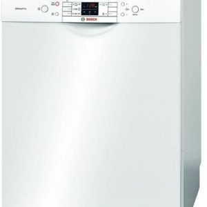 Bosch SMS53M42TR Silence Plus Dishwasher, White