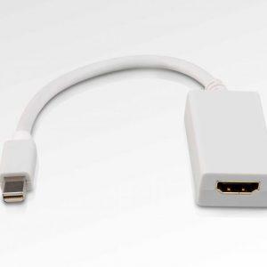 Mini DisplayPort to HDMI Cable Female Adapter for Apple Macbook Macbook Pro iMac Macbook Air Mac Mini Laptop