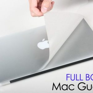 """MacGuard Full Body Skin Protector sticker for MacBook Pro 13"""" inches Silver"""