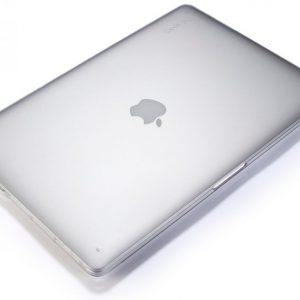 See Thru case Ultra Slim TRANSPARENT Hard Cover for MacBook AIR 13 inch - CLEAR