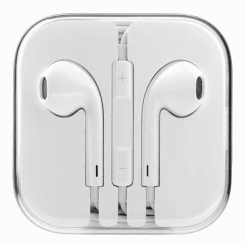 Apple White Earphones Headphones With Remote & Volume Controls For iPad iPhone 5