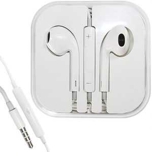 White Stereo Earpods Earbuds Headset with Mic / Remote for Apple iPad 3/2/1 iPhone 5/4S/4G/3GS iPod