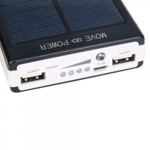 30000mAh Solar Power Bank Backup Battery Charger iphone Li-Polymer battery