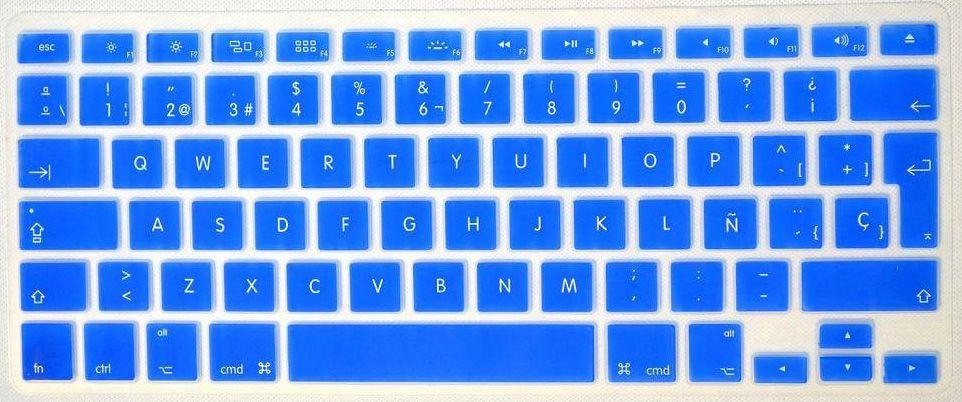 Keyboard Cover Protector Skin for Apple MacBook Pro 13 15 17 Aluminum Unibody & MacBook Air 13