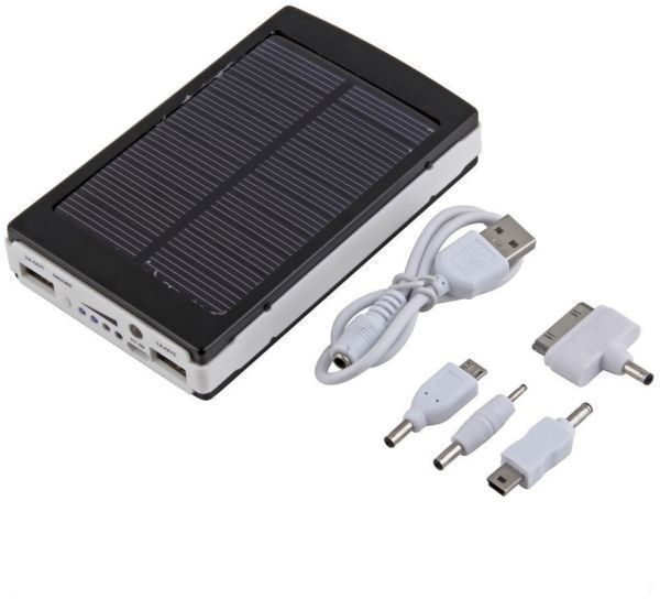 30000mah solar energy power bank charger for apple iphone samsung nokia