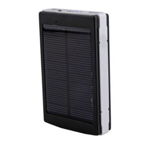 10000mAh Solar Power Bank Backup Battery Charger GPS Mobile HTC Samsung S3 S4 Nokia Rivo