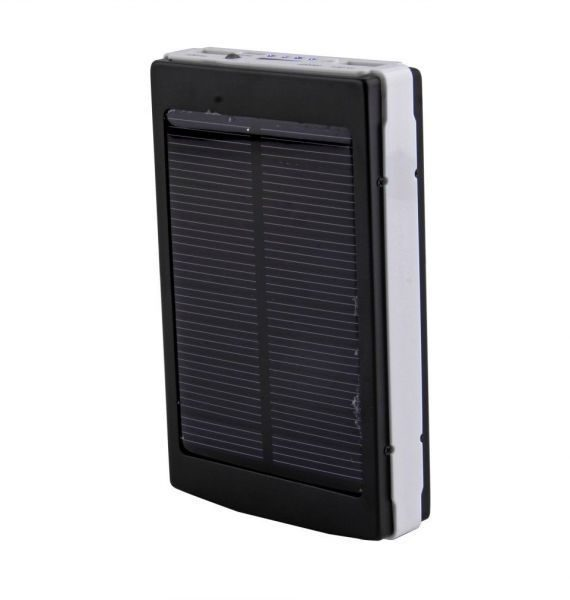 10000mAh Solar Power Bank Backup Battery Charger GPS Mobile HTC Samsung S3 S4 Nokia LG