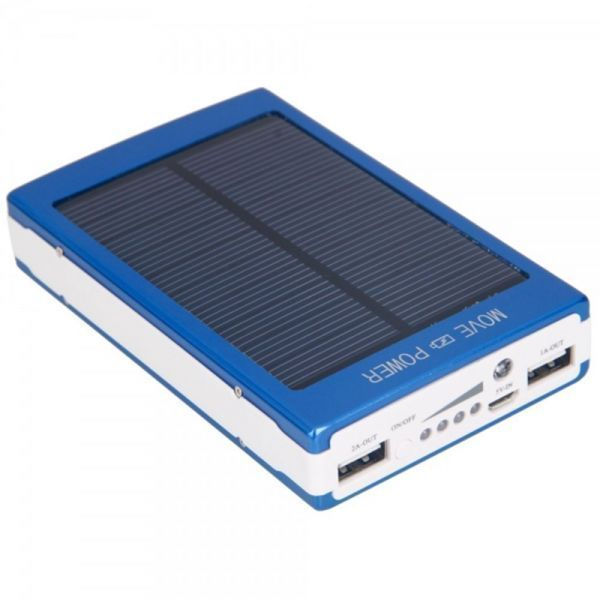 30000mAh Solar Power Bank Battery Charger For Mobile Smartphones Camera Nokia, Samsung, Motorola