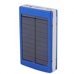 10000mAh Solar Power Bank Backup Battery Charger GPS Mobile HTC Samsung iPhone Nokia All in One
