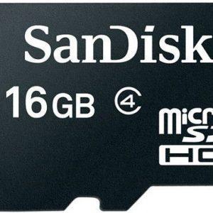 Sandisk 16 GB Class 4 Micro SDHC Card - SDSDQM-016G-B35