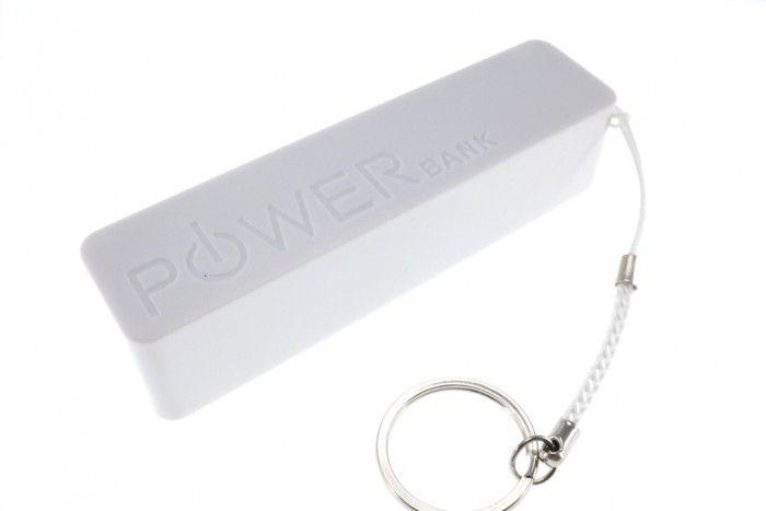 Universal Power Bank 3000 mAh - White