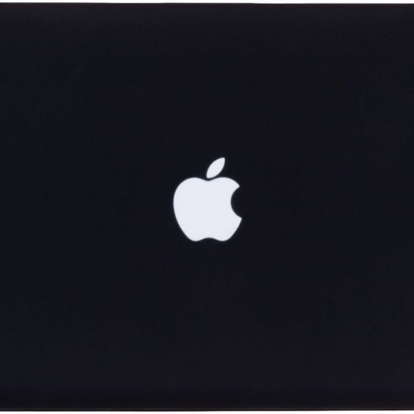 Frosted Matte Rubberized Hard Shell Case Cover For 13 Inch Macbook Pro A1278 Black