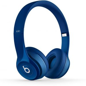 Beats Solo 2.0 Wired Over the Ear Headphone - Blue