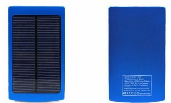 10000mAh Solar Power Bank Backup Battery Charger GPS for Mobile HTC Samsung S3 S4 Nokia All in One