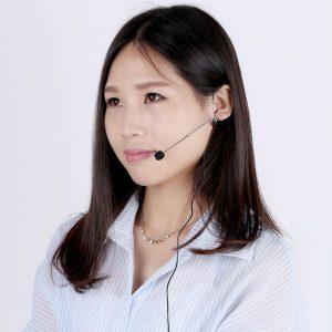 [I1026]Mini Ear-hook Headset Microphone Mic