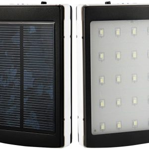 20000mAh Solar Power Bank Backup Battery Charger For Mobile HTC Samsung Nokia