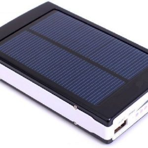 10000mAh Solar Power Bank Backup Battery Charger GPS Mobile HTC Samsung S3 S4 Nokia