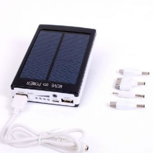 30000mah POLYMER Solar Energy Power Bank Battery Charger For Mobile Smartphones iPhone Samsung