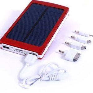 30000mah Solar Energy Power Bank Portable Battery iPad Galaxy Tab iPhone Samsung HTC MP4