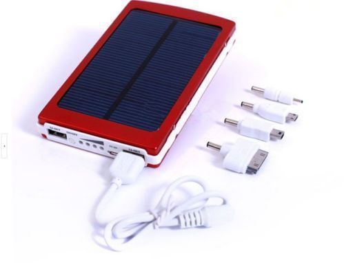 30000mah Solar Energy Power Bank Portable Battery iPad Galaxy Tab iPhone Samsung HTC MP4