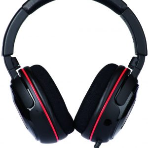 Turtle Beach Ear Force Z60 7.1 Surround Sound PC Gaming Headset, Red - TBS-6020-02