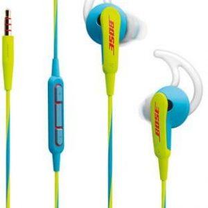 Bose Sound Sport In Ear Headset, Neon Blue - 741776-0020